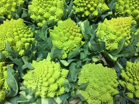 Romanesco (coolest veg ever!)